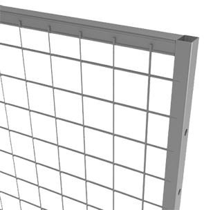 Troax panel ur350 with mesh 50x50 mm